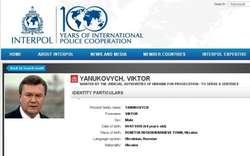 Janukowycza szuka Interpol