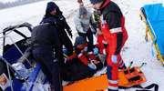 Bezpieczny Lód 2015. Pokazy ratowników i policjantów