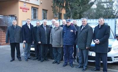 Nowe radiowozy na drogach powiatu sierpeckiego