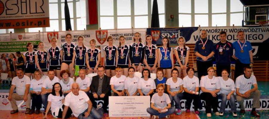 Brązowy medal Mistrzostw Polski dla naszych siatkarek to wielkie wydarzenie