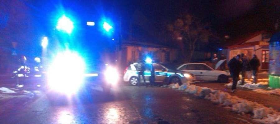 Do kolizji doszło na skrzyżowaniu ulic Giżyckiej i Osiedle Robotnicze w Orzyszu.