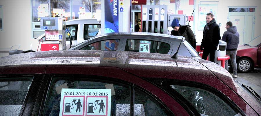 Kierowcy protestowali w sobotę 10 stycznia