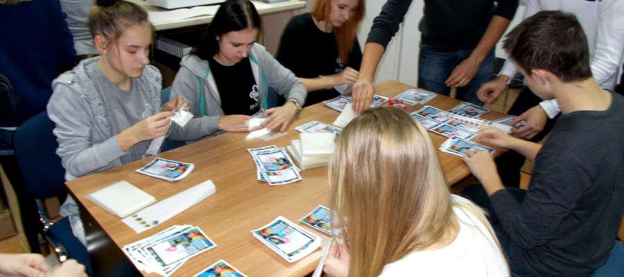 Wolontariusze z Żuromina odwiedzili główny sztab w Warszawie