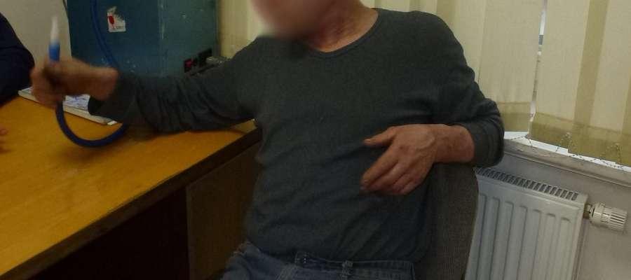 Pijany mężczyzna trafił do aresztu