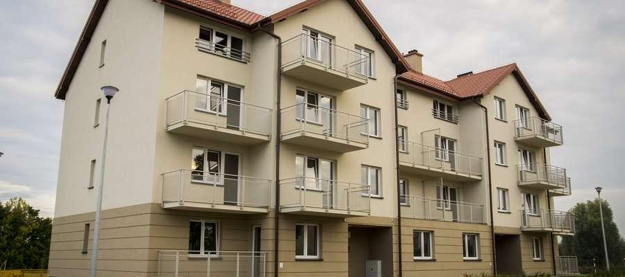 Pierwszy blok, który powstał w ramach mikołajskiego programu budowy tanich mieszkań