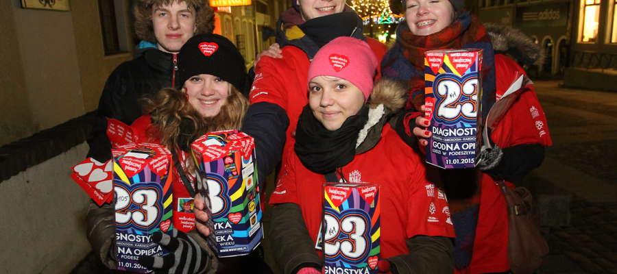Podczas tegorocznego finału Wielkiej Orkiestry Świątecznej Pomocy w Olsztynie, udało się zebrać ponad 240 tys. złotych.