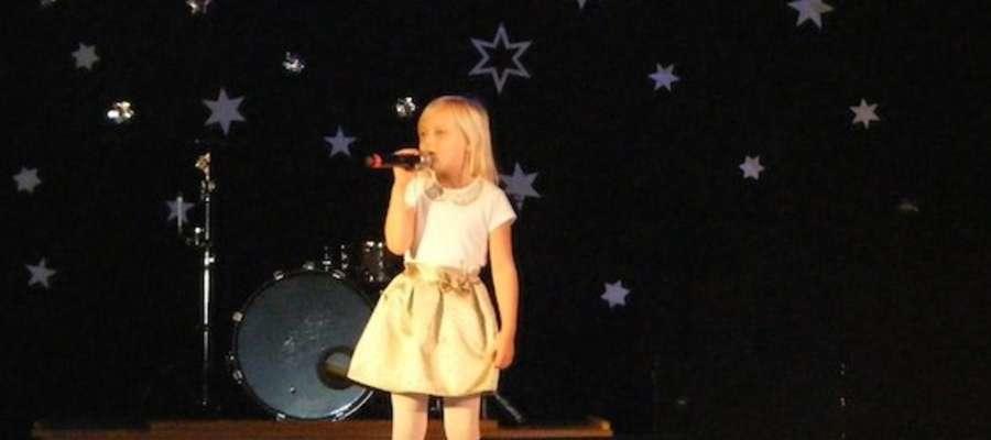 Nasza wokalistka na lubawskiej scenie