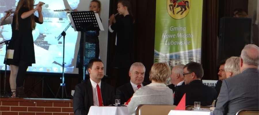 Podczas spotkania wystąpili uczniowie i nauczyciele szkoły muzycznej w Nowym Mieście
