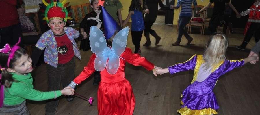 Zabawa podczas ubiegłorocznych ferii w GCK