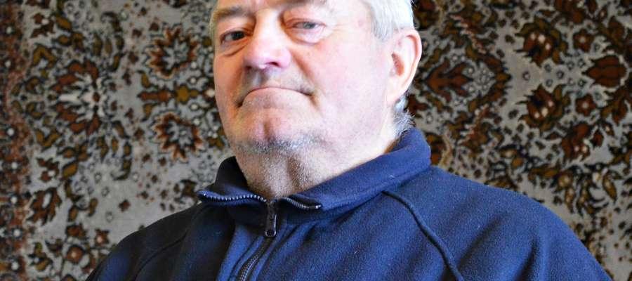 Pan Stanisław Łatacz mieszkaniec Rostek Skomackich