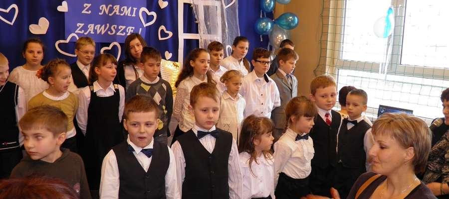 Występy w szkole w Montowie