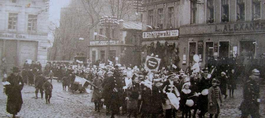 19 stycznia 1920 roku wojsko polskie witano także w Nowym Mieście Lubawskim
