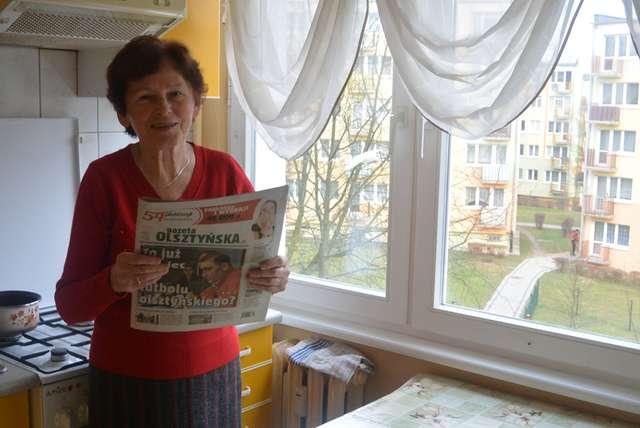 Małgorzata Czodrowska w swoim domu w Olsztynie - full image