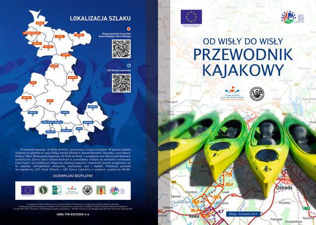 Powstał przewodnik kajakowy po Kanale Elbląskim, Drwęcy i Welu - full image