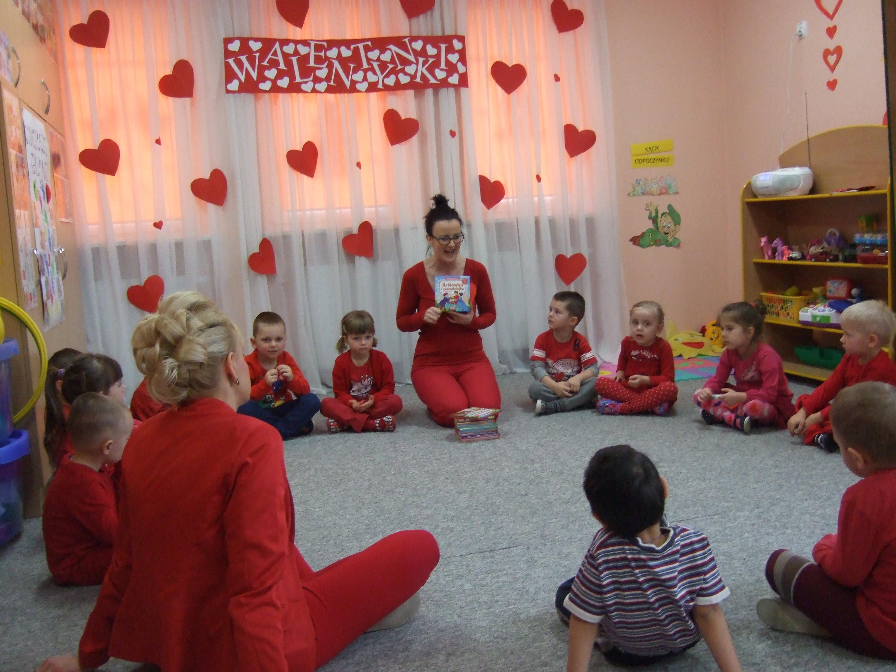 Walentyki W Przedszkolu Gminnym Nr 1 W Bartoszycach Bartoszyce