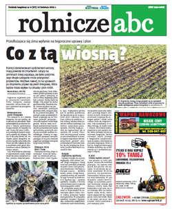 Rolnicze ABC - kwiecień 2013