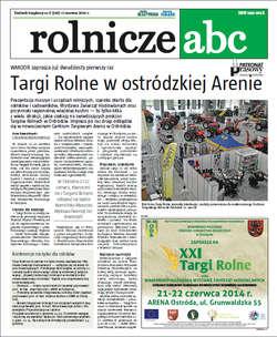 Rolnicze ABC - czerwiec 2014