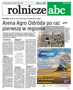 Rolnicze ABC - styczeń 2015