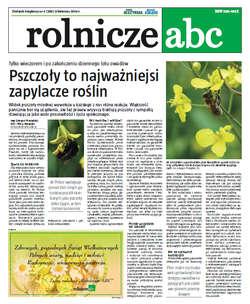 Rolnicze ABC - kwiecień 2014