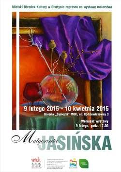 Wystawa malarstwa Małgorzaty Jasińskiej