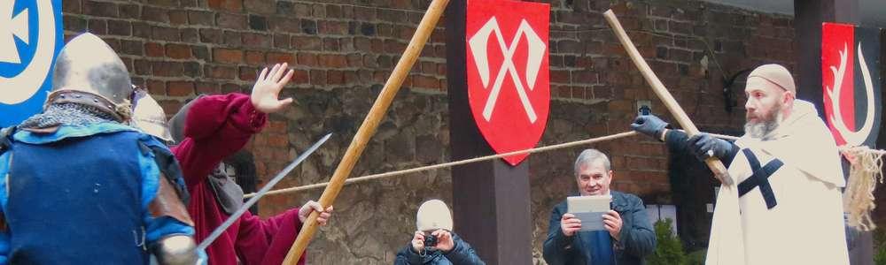 VI zimowa Rejza na pola Grunwaldu i zamek w Nidzicy