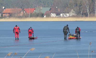 Uwaga na słaby i kruchy lód