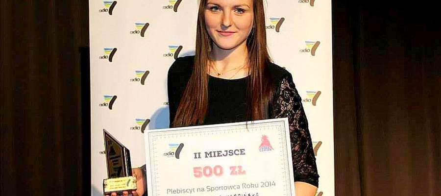 Marcelina Karpińska siatkarka z Żuromina została 2. Sportowcem Północnego Mazowsza i Działdowszczyzny