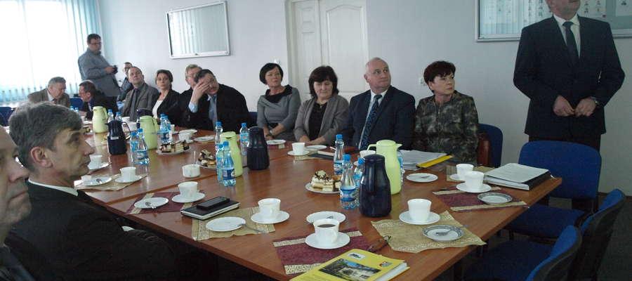 W starostwie spotkali się burmistrzowie, wójtowie i przewodniczący rad