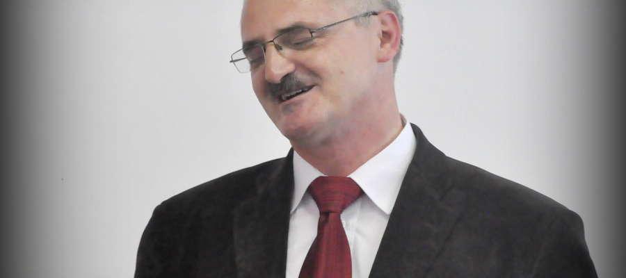 Zbigniew Nosek od zeszłego tygodnia pracuje w Lidzbarku. Gratulujemy