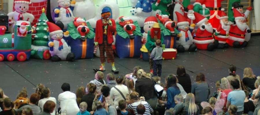 "Imprezę poprowadził duet ""The Clown Circus Show Ruphert & Rico"""