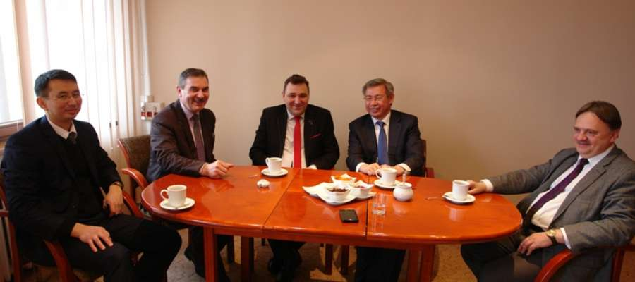 Podczas wczorajszej wizyty rozważano warianty współpracy inwestycyjnej