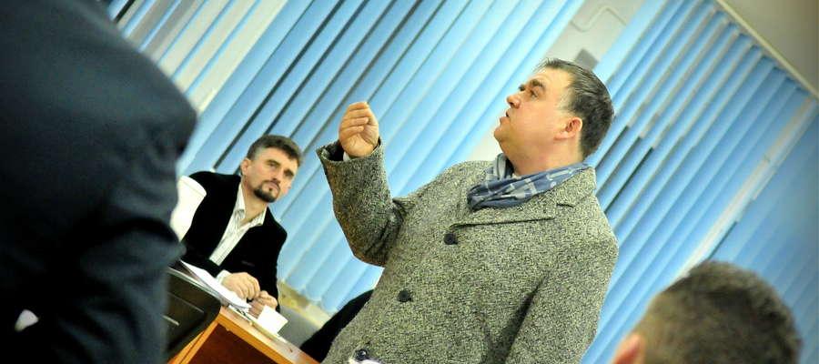 Mariusz Ruchalski przedstawił radnym ciekawą wizję Dni Żuromina. Pomysł przypadł do gustu