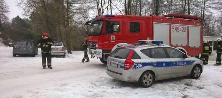 Wypadek bojerów na lodzie