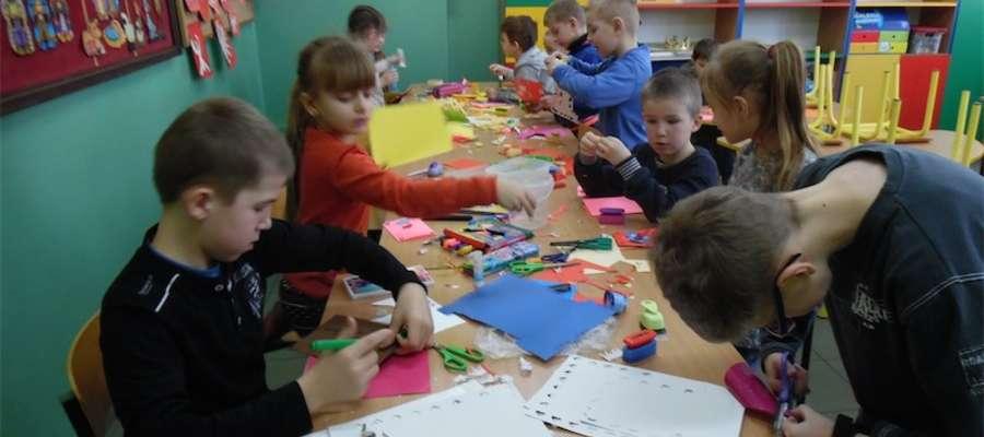 Podczas zajęć w szkole w Boleszynie