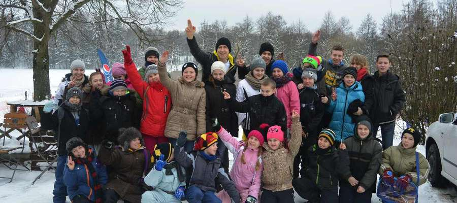 Dzieci z gminy Wydminy aktywnie spędziły ferie