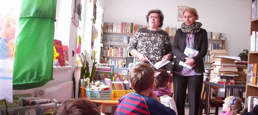 Zajęcia w Bibliotece w Kruklankach (zdjęcie jest ilustracją do tekstu)