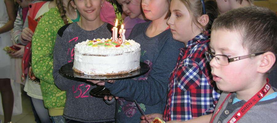 Tort na 13. urodziny