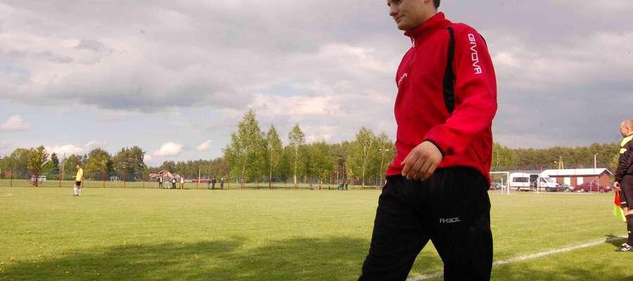 Ostrołęcka Korona testuje wychowanka Tęczy Łyse Krzysztofa Szymańskiego, który z końcem rundy jesiennej zakończył współpracę z rodzimym klubem