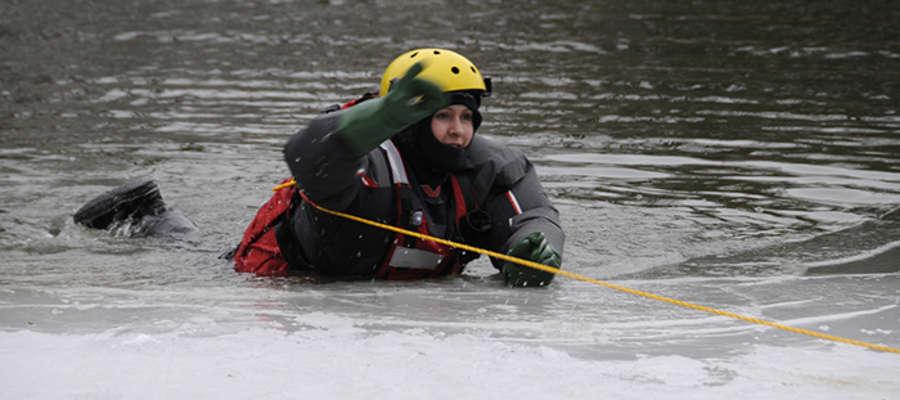 Ćwiczenia Sekcji Wodnej na Jeziorze Krutyńskim