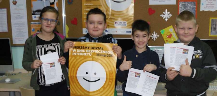 Uczniowie klasy III uczestniczyli w obchodach Dnia Bezpiecznego Internetu