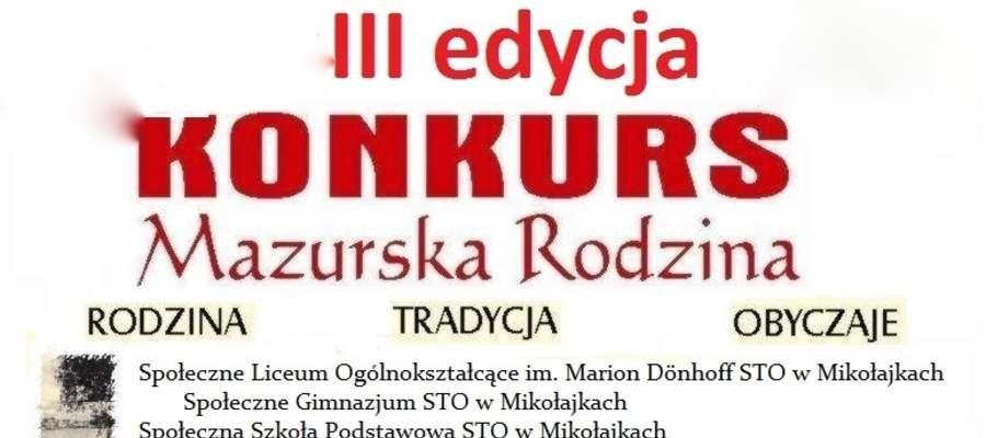 Trwa III edycja konkursu Mazurska Rodzina