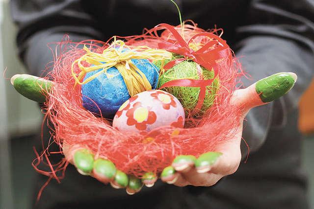 Wielkanocne pisanki - full image