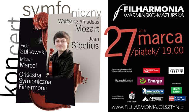 Koncert symfoniczny w olsztyńskiej filharmonii - full image