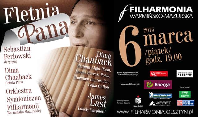 Wirtuoz fletni Pana - Dima Chaaback   - full image