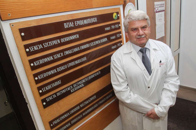Marek Behan, kierownik sekcji ds. szczepień ochronnych w Wojewódzkiej Stacji Sanitarno-Epidemiologicznej w Olsztynie - full image