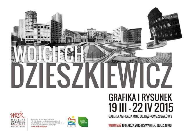 Wernisaż wystawy grafiki Wojciecha Dzieszkiewicza - full image