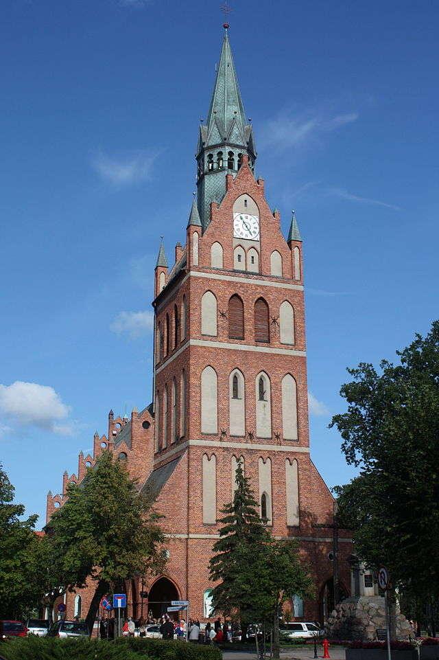 Ełk: Kościół pw. Najświętszego Serca Pana Jezusa - full image