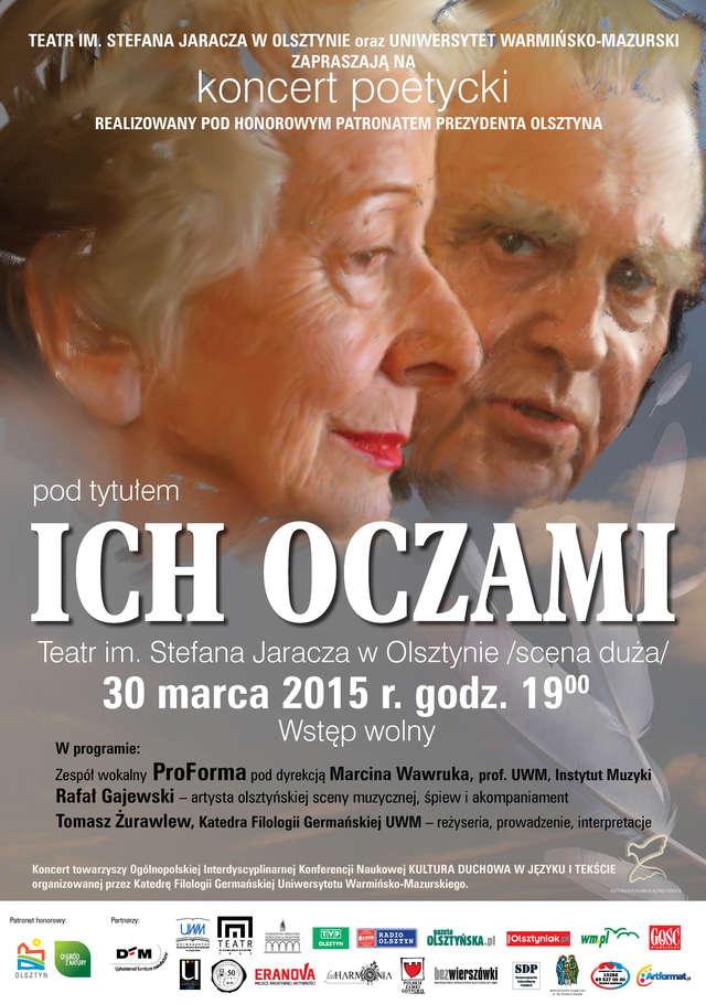 Koncert poetycki ICH OCZAMI - full image