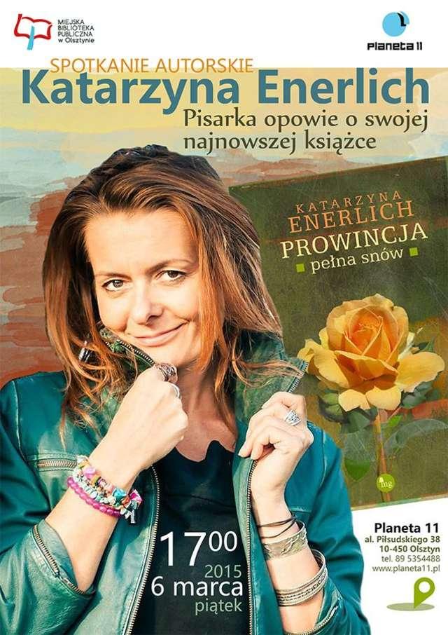 Spotkanie autorskie z Katarzyną Enerlich - full image