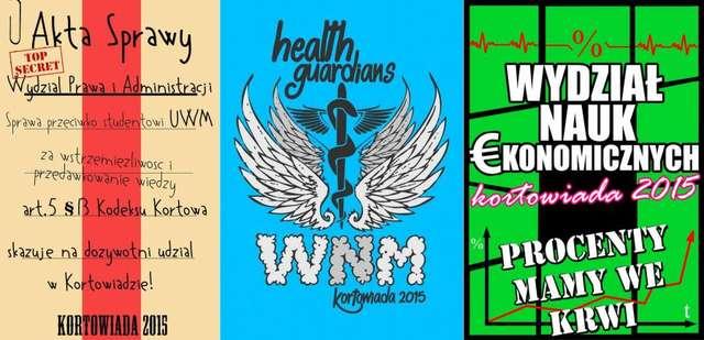 Kortowiada 2015: Wydziały zaprezentowały swoje koszulki. Która najlepsza? - full image